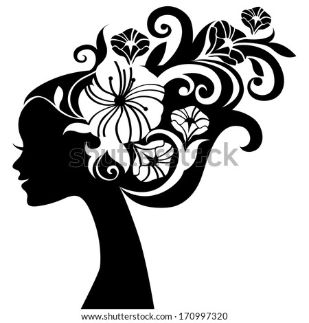 A Guide To Finding An internet Dating Web page That Suits Your Needs stock vector beautiful woman silhouette with flowers 170997320