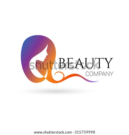 Hair salon logo stock images royalty free images for Hair salon companies