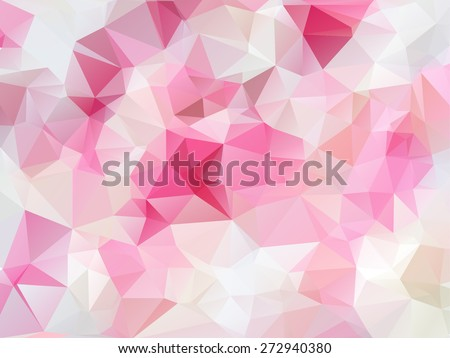 Beauty & Fashion concept abstract geometric beautiful background - stock vector