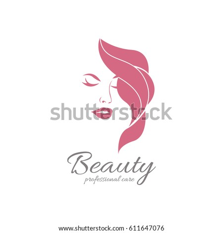 beauty girl logotype elegant logo beauty С�оковое
