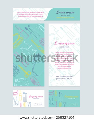 Beauty Salon Brochure Template Stock Images, Royalty-Free Images