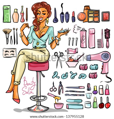 Beauty Supplies Stock Photos Images Amp Pictures