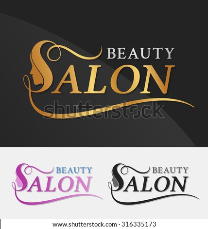 Salon Logo Stock Images, Royalty-Free Images & Vectors | Shutterstock