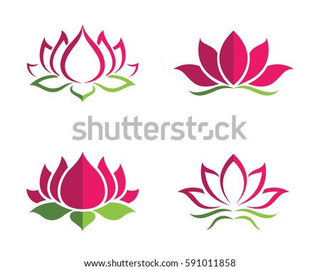Lotus Vector Stock Images Royalty Free Images Vectors