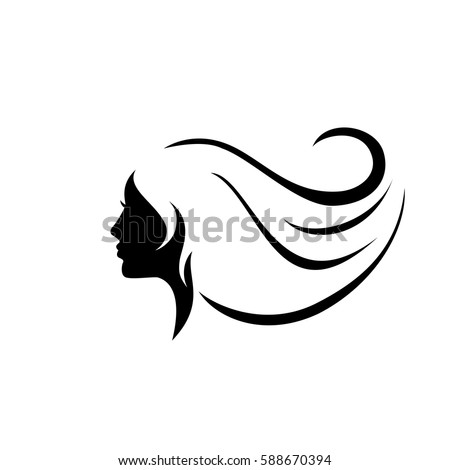 Woman Face Silhouette Stock Images, Royalty-Free Images & Vectors ...