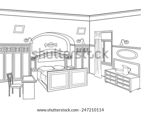 Search as well Stock Vector Table Etiquette moreover Tripod moreover Interior Design Cabi further 2265852589798142 Victorian Houses Drawings Victorian House Drawing. on kitchen and living room sketches html