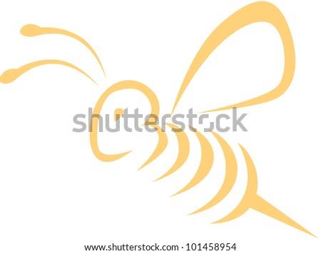 Bee Artwork - stock vector