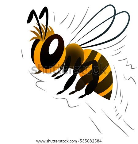 Cool white and black background - Bee Cartoon Stock Images Royalty Free Images Amp Vectors