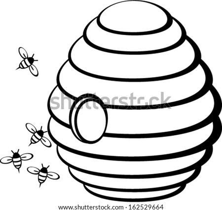 Honey Hive Stock Images Royalty Free Vectors