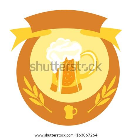 Beer - stock vector