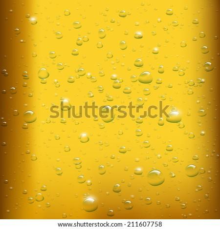 beer background - stock vector