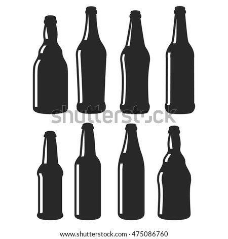 Collection interesting alcohol beer liquor wine stock for Interesting bottle shapes