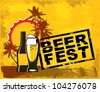 beer fest - stock vector