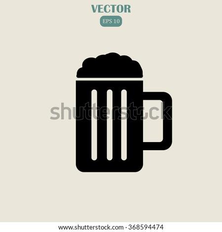 Beer Icon. Beer Icon Vector. Beer Icon JPEG. Beer Icon Object. Beer Icon Picture. Beer Icon Image. Beer Icon Graphic. Beer Icon Art. Beer Icon JPG. Beer Icon EPS. - stock vector