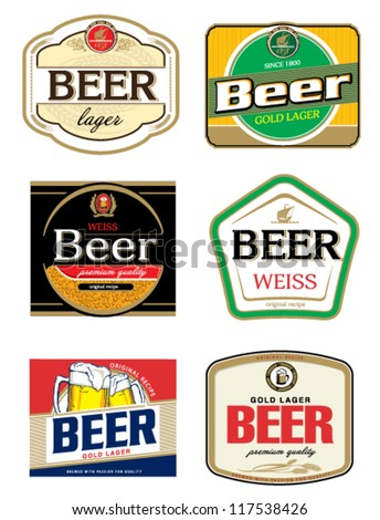 beer label template stock vector royalty free 117538426 shutterstock