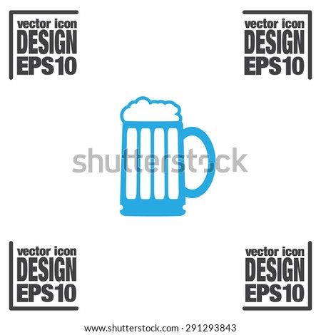 beer vector icon