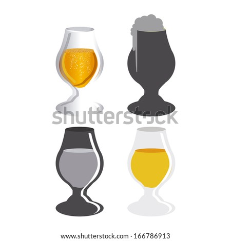 beers design over white background vector illustration
