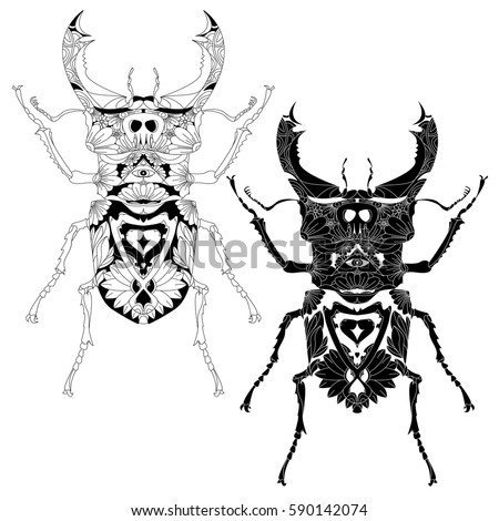 Beetle Hand Drawn Sketch Adult Coloring 590142083 moreover Ripped Decal as well Pig Shape Templates in addition  as well Dead body gifts. on scary boar cartoon