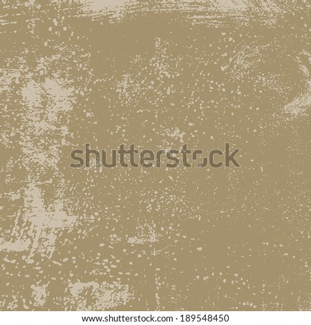 Beige Distress Texture for your design. EPS10 vector. - stock vector