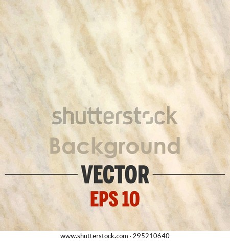 Beige marble texture Vector background.