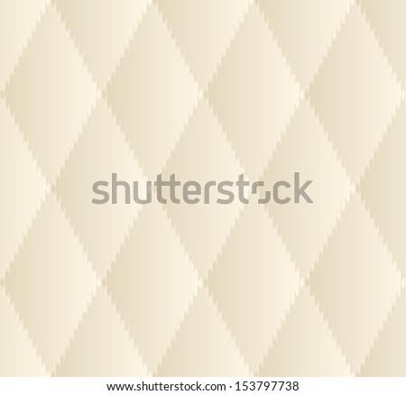 Beige rhombus seamless pattern background - stock vector
