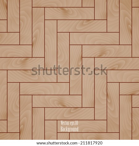 beige wooden texture background of parquet. vector illustration eps10