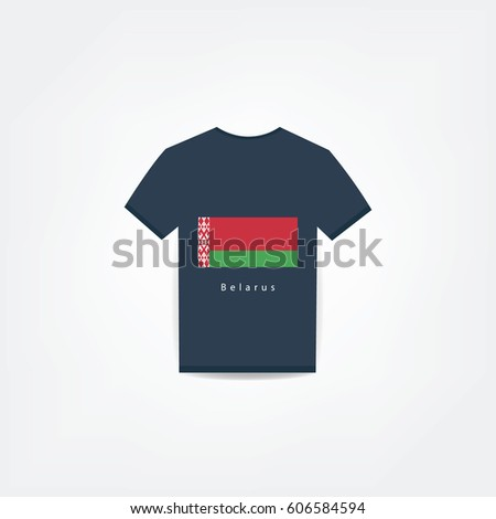 Belarus On t-shirt design Using For Business or Personal