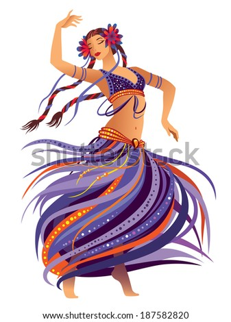 Belly Dancer Stock Vectors, Images & Vector Art | Shutterstock