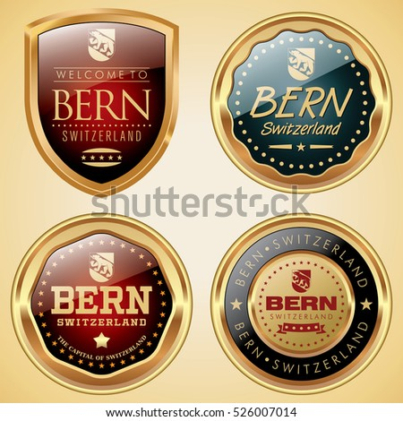 Bern Switzerland badges