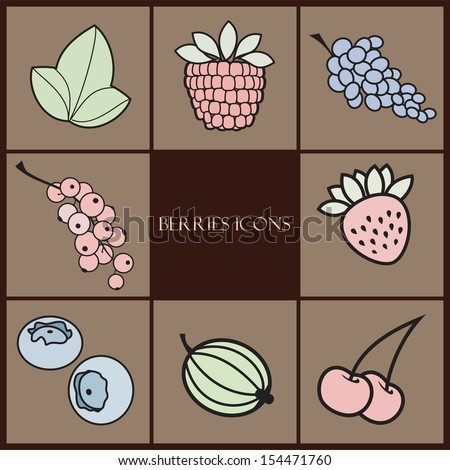 berries icons