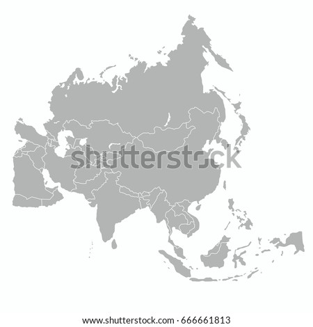 Best asia outline world map stock photo photo vector illustration best asia outline world map gumiabroncs Gallery