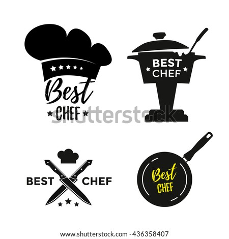 Chef stock photos royalty free images vectors - Utensilios de chef ...