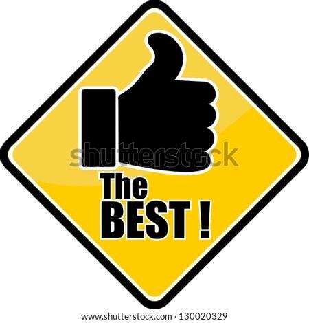 Best Choice Symbol Vector Illustration