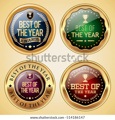 Best of The Year badges