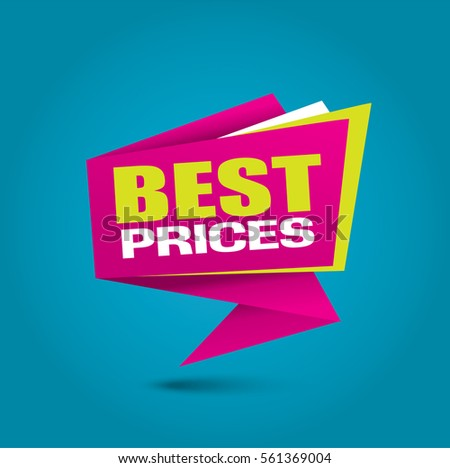 Best prices bubble banner in vibrant pink colors