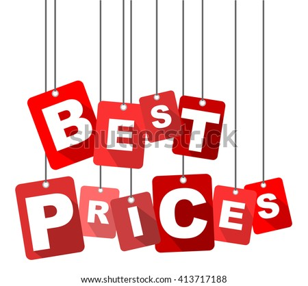 best prices, red vector best prices, red tag best prices, flat vector best prices, sign best prices, design best prices, element best prices, background best prices, illustration best prices - stock vector