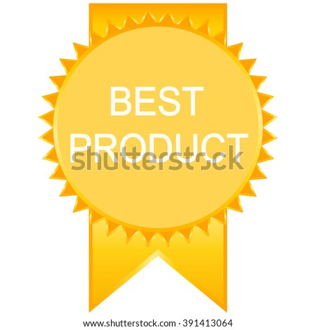 Best product seal or icon.  - stock vector