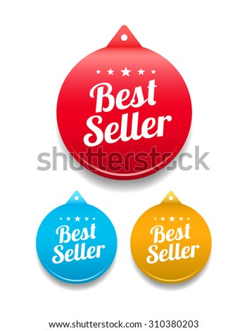 Best Seller Round Tag