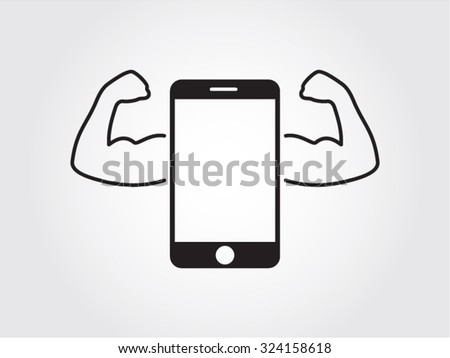 Best smartphone. Quality concept vector icon - stock vector