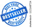 Bestseller vector stamp - stock photo