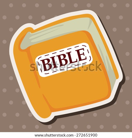 bible theme elements - stock vector
