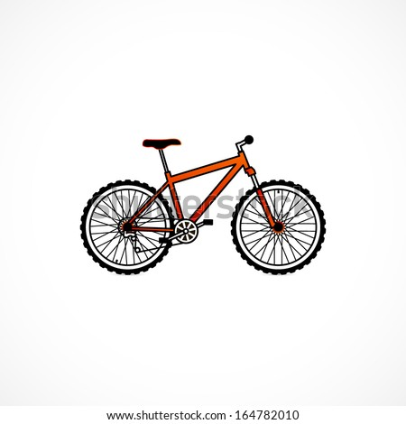 Bicycle stock vector for Bike tire art