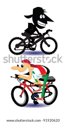 Bicycle Characters