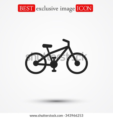 bicycle icon. Vector  Eps 10