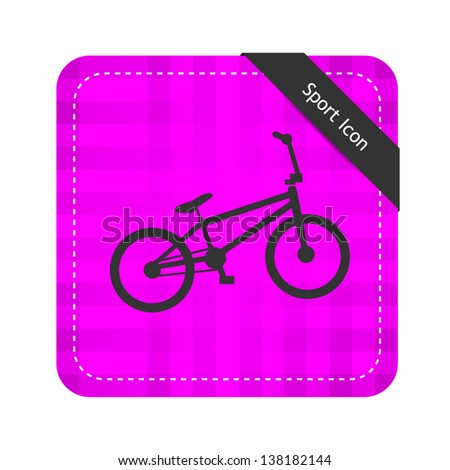 Bicycle ( Sport Icon ) - stock vector