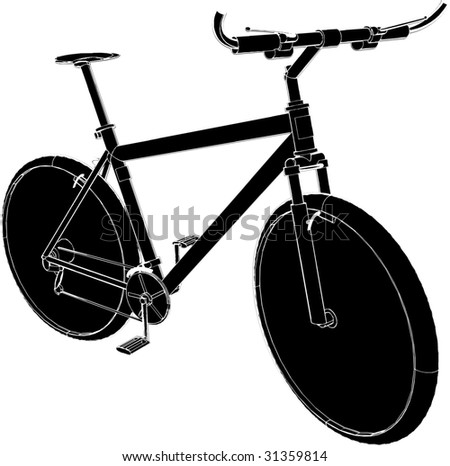 Bicycle Vector 01