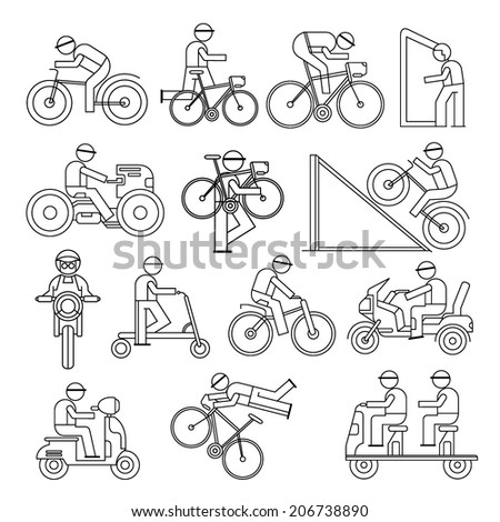 Stock Vector Happy Smiling Man Geek Hipster Character Car Traveler Backpack Schooter Bike Icon Travel Lifestyle also Colnago Clx additionally Q5 3211 3a additionally Downloads furthermore  on wheelchair carrier for car