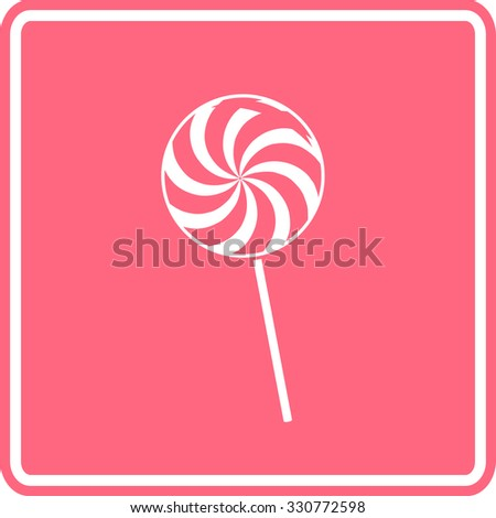 big lollipop sign