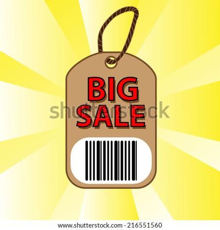 big sale - stock vector