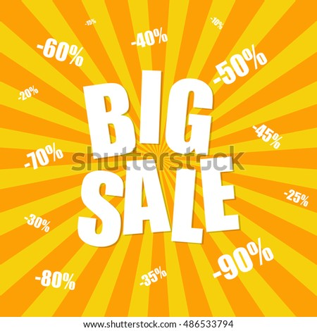 Big sale background